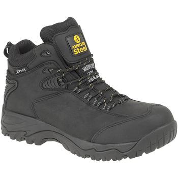 Skor Herr safety shoes Amblers FS190 SAFETY Svart