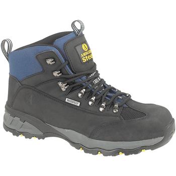Skor Herr safety shoes Amblers FS161 SAFETY Svart
