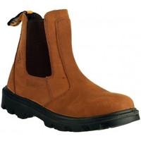 Skor Herr Boots Amblers FS131 SAFETY Brun