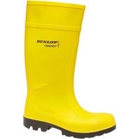 Skor Herr safety shoes Dunlop C462241 Purofort Full Safety Standard Gul