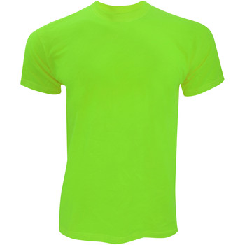 textil Herr T-shirts Fruit Of The Loom SS12 Lime