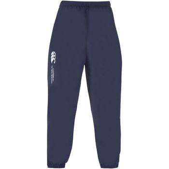 textil Herr Joggingbyxor Canterbury CN250 Marinblått
