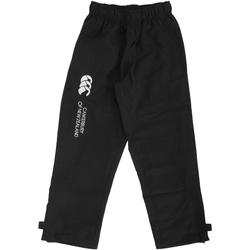 textil Barn Joggingbyxor Canterbury CN250B Svart