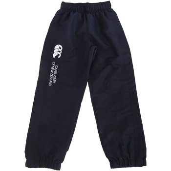 textil Barn Joggingbyxor Canterbury CN251B Marinblått