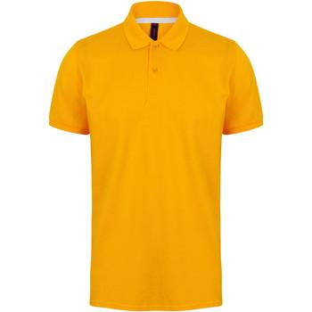 textil Herr Kortärmade pikétröjor Henbury HB101 Guld
