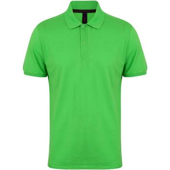 textil Herr Kortärmade pikétröjor Henbury HB101 Lime