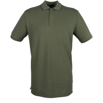 textil Herr Kortärmade pikétröjor Henbury HB101 Olive