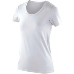 textil Dam T-shirts Spiro SR280F Vit
