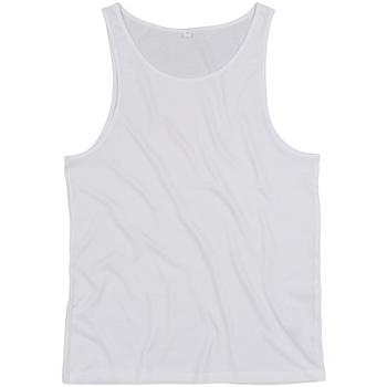 textil Linnen / Ärmlösa T-shirts Mantis M133 Vit