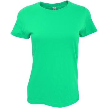 textil Dam T-shirts Sols 11502 Smaragd