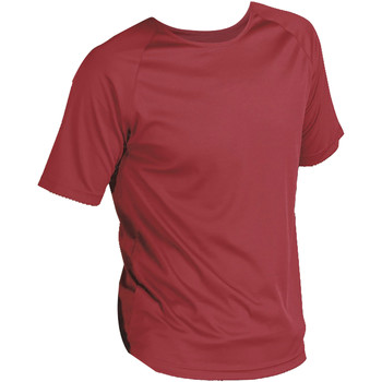 textil Herr T-shirts Sols 11939 Röd