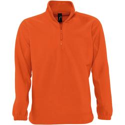 textil Herr Fleecetröja Sols 56000 Orange