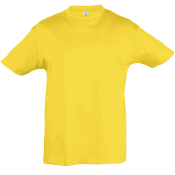 textil Barn T-shirts Sols 11970 Guld