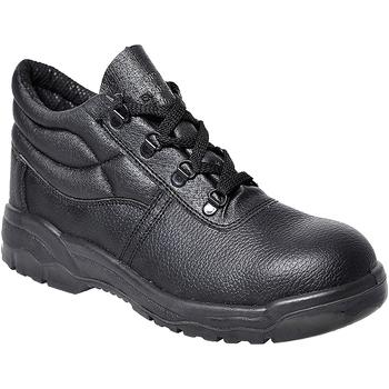 Skor Herr safety shoes Portwest PW302 Svart
