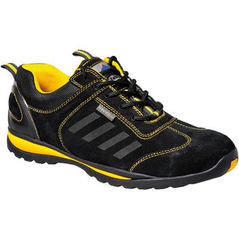 Skor Herr Sneakers Portwest PW304 Svart
