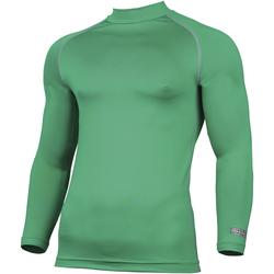 textil Herr Långärmade T-shirts Rhino RH001 Grön