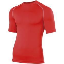 textil Herr T-shirts Rhino RH002 Röd
