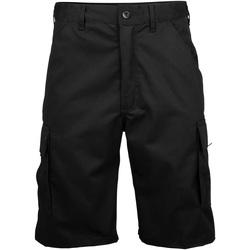 textil Herr Shorts / Bermudas Rty Workwear RT031 Svart