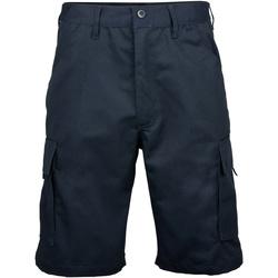 textil Herr Shorts / Bermudas Rty Workwear RT031 Marinblått