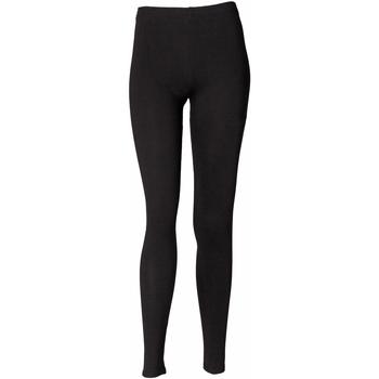 textil Dam Leggings Skinni Fit SK064 Svart