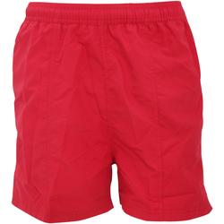 textil Herr Shorts / Bermudas Tombo Teamsport TL080 Röd