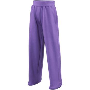 textil Barn Joggingbyxor Awdis JH71J Lila