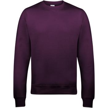 textil Herr Sweatshirts Awdis JH030 Plommon