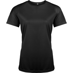 textil Dam T-shirts Kariban Proact PA439 Svart