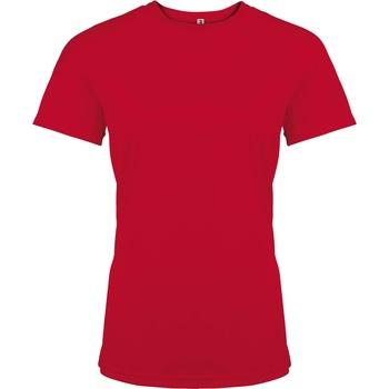 textil Dam T-shirts Kariban Proact PA439 Röd
