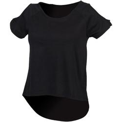 textil Dam T-shirts Skinni Fit SK233 Svart