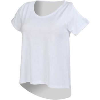 textil Dam T-shirts Skinni Fit SK233 Vit