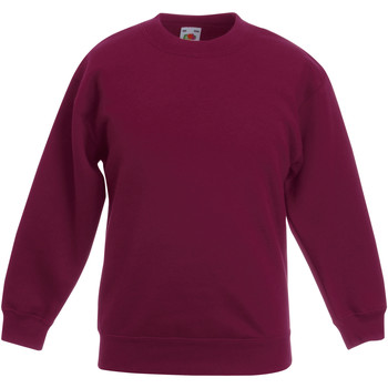 textil Barn Sweatshirts Fruit Of The Loom 62031 Bourgogne
