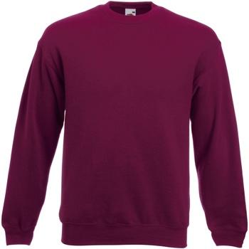 textil Herr Sweatshirts Fruit Of The Loom 62154 Bourgogne