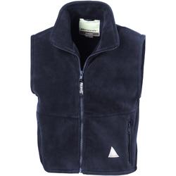 textil Fleecetröja Result RE37J Marinblått