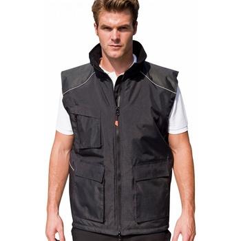 textil Herr Koftor / Cardigans / Västar Result R306X Svart
