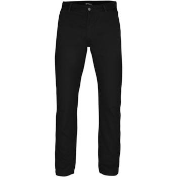textil Herr Chinos / Carrot jeans Asquith & Fox AQ050 Svart