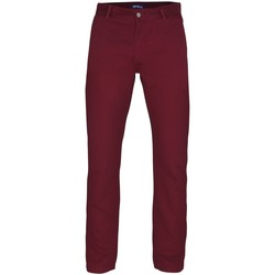 textil Herr Chinos / Carrot jeans Asquith & Fox AQ050 Bourgogne