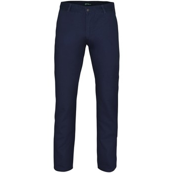textil Herr Chinos / Carrot jeans Asquith & Fox AQ050 Marinblått