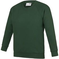 textil Barn Sweatshirts Awdis AC01J Grön