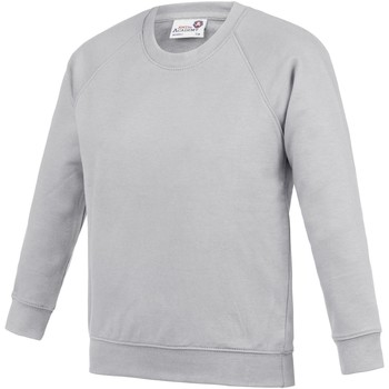 textil Barn Sweatshirts Awdis AC01J Grått