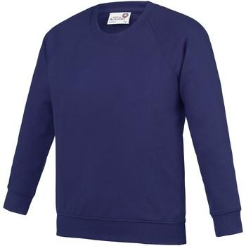 textil Barn Sweatshirts Awdis AC01J Lila