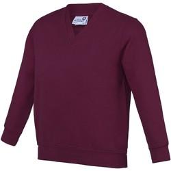 textil Barn Sweatshirts Awdis AC03J Bourgogne