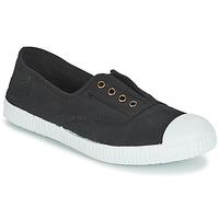 Skor Sneakers Victoria INGLESA ELASTICO TINTADA Svart