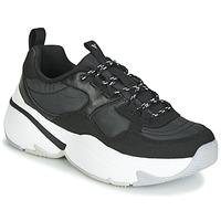 Skor Dam Sneakers Victoria AIRE NYLON/SERRAJE PU Svart
