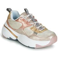 Skor Dam Sneakers Victoria AIRE METALICO NACAR Beige