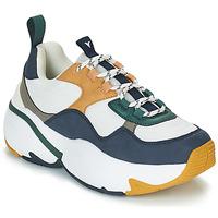 Skor Dam Sneakers Victoria SNEAKER MALLA/MULTIMATERIAL Vit / Marin