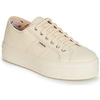 Skor Dam Sneakers Victoria BARCELONA LONA MONOCROMO Beige