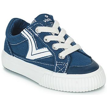 Skor Barn Sneakers Victoria TRIBU LONA RETRO Blå