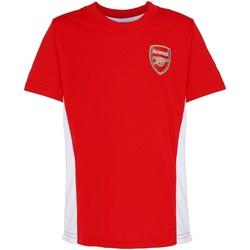 textil Barn T-shirts Arsenal Fc OF301 Röd