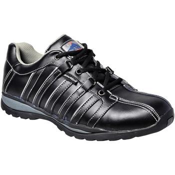 Skor Herr safety shoes Portwest PW324 Svart
